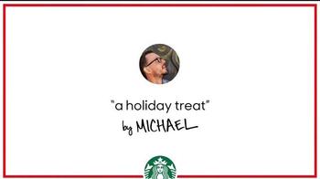 Starbucks TV Spot, 'Holiday Craft: Michael's Chestnut Praline Latte'