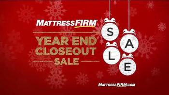 Mattress Firm Year End Closeout Sale TV Spot, 'Queen Sets'