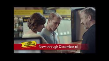 Lumber Liquidators Yellow and Black Friday Flooring Sale TV Spot, 'Better'