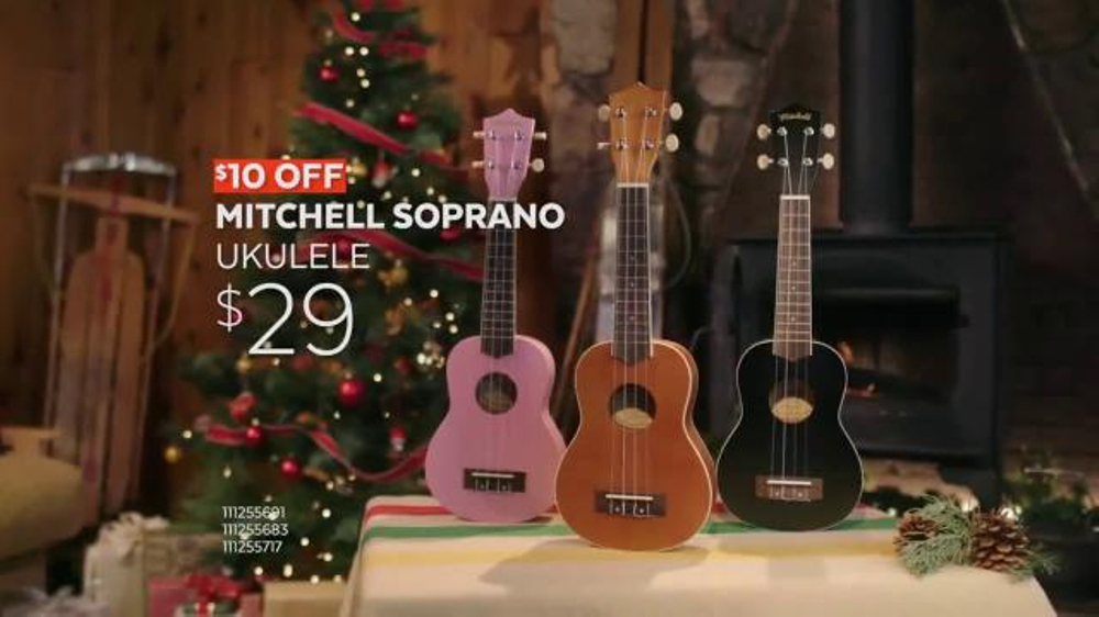 guitar center black friday tv commercial 39 ukulele and stands 39 song by run d m c. Black Bedroom Furniture Sets. Home Design Ideas