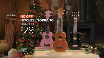 Guitar Center Black Friday TV Spot, 'Ukulele and Stands' Song by Run D.M.C.