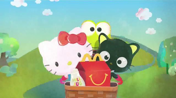 McDonald\'s Happy Meal TV Spot, \'Hello, Sanrio Friends\'