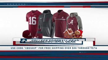 About CBS Sports Store. Check out the incredible array of licensed sports gear at the CBS Sports Store, and save on all the apparel, gifts, caps, and team tees you could possibly want with CBS Sports Store .