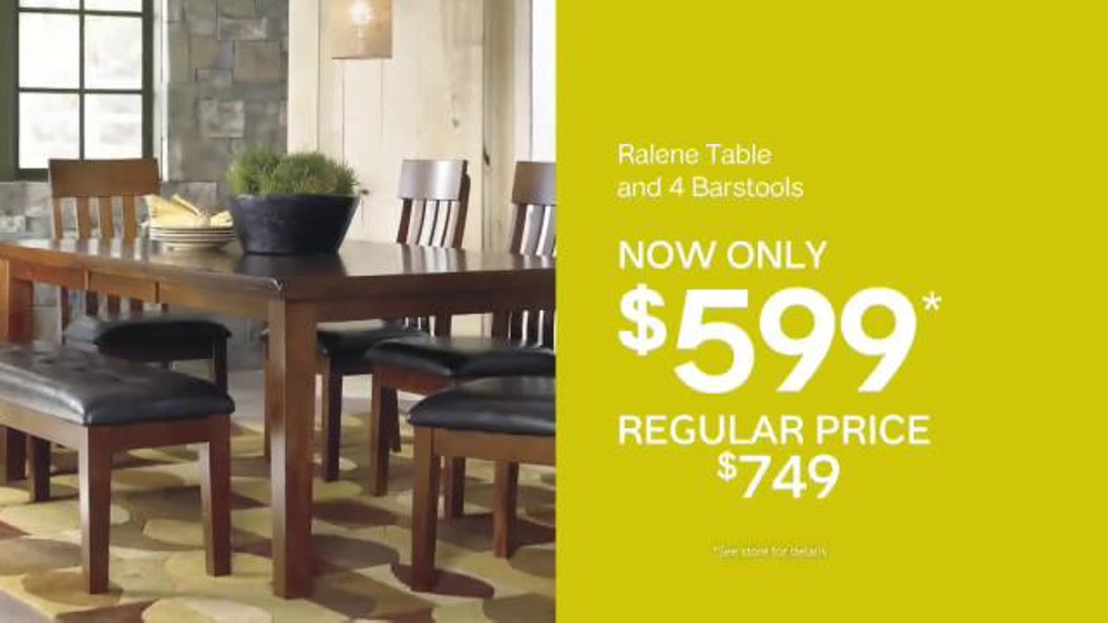 ashley furniture homestore sale clearance event tv commercial