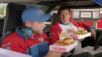 Sonic Drive-In $5 SONIC Boom Box TV Spot, 'NBC Sports: Top Drivers'