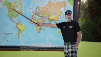 MasterCard World TV Spot, 'Geography Expert' Featuring Ian Poulter
