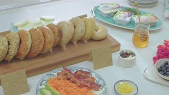 Arla Cream Cheese TV Spot, 'Bagel Bar'