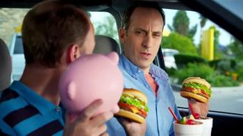 Sonic Drive-In TV Half Price Cheeseburgers Spot, 'Piggy Bank'