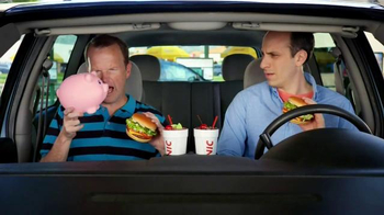 Sonic Drive-In TV Half Price Cheeseburgers Spot, 'Piggy Bank'