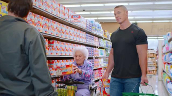 Hefty Ultra Strong TV Spot, 'Hefty/Wimpy' Feat. John Cena, Rob Schneider