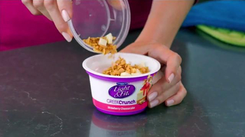 Dannon Light & Fit Greek Crunch TV Spot, 'Shake'