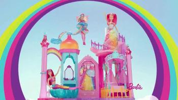 Barbie Rainbow Cove Princess Castle Playset: Let's Explore thumbnail