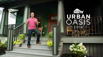 HGTV 2016 Urban Oasis Giveaway TV Spot, 'Could Be Yours'