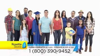 Rosetta Stone TV Spot, 'Siendo bilingüe' [Spanish]