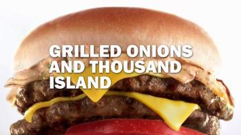 Carl's Jr. Classic Double Cheeseburger TV Spot, 'Really Classic'