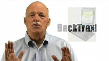 BackTrax TV Spot, 'Don't Live With Back Pain'