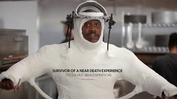 Pizza Hut Grilled Cheese Stuffed Crust TV Spot, 'Near Death Experience'