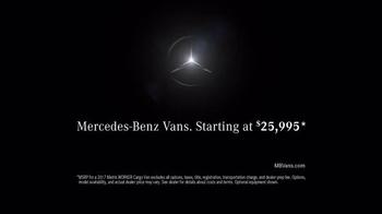 2017 Mercedes-Benz Metris TV Spot, 'Hauls More' - Thumbnail 8