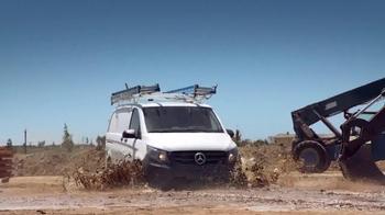 2017 Mercedes-Benz Metris TV Spot, 'Hauls More' - Thumbnail 7