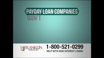 Franklin Services TV Spot, 'Help with High Interest Loans'