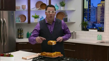 Gotham Steel Double Grill TV Spot, 'Nothing Sticks' Featuring Graham Elliot - Thumbnail 5