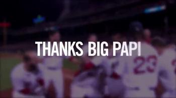 Major League Baseball TV Spot, 'Thanks Big Papi' Song by Rita Ora