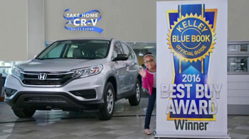 Honda Take Home a CR-V Sales Event TV Spot, 'Daughter' - 136 commercial airings