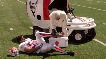 KFC $20 Fill Up TV Spot, 'Injury' Featuring Rob Riggle