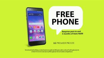 Straight Talk Wireless TV Commercial, 'Free LG Phone: No Contract