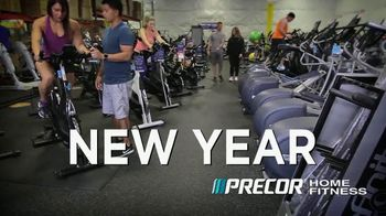 Precor home fitness the resolutions sale tv commercial new year