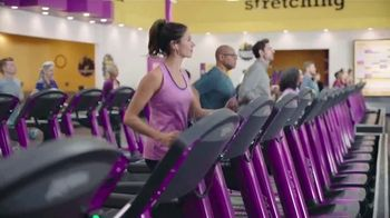 Planet fitness no commitment sale tv commercial 25 cents down