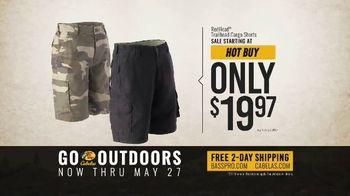 24e3aea8 ... Bass Pro Shops Go Outdoors Event and Sale TV Spot, 'RedHead Cargo Shorts  ...