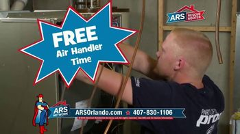 ARS Rescue Rooter TV Commercial, 'Free Air Handler Time
