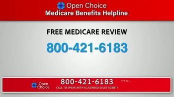Open Choice Medicare Benefits Helpline TV Commercial, 'Additional Medicare  Covered Benefits' - Video