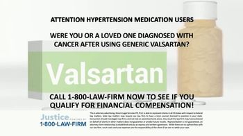 1-800-LAW-FIRM TV Commercial, 'Diagnosed With Cancer After
