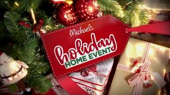 Michaels Holiday Home Event Tv Commercial All Christmas