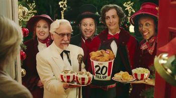 Kfc Commercial Latest Christmas Carolers 2020 KFC $20 Fill Up TV Commercial, 'Holidays: Carolers'   iSpot.tv