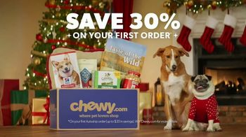 Chewy.TV Commercial, 'Holidays: Unbox Holiday Savings'   iSpot.tv