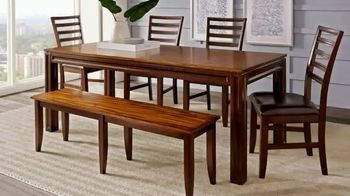Rooms To Go Summer Sale And Clearance TV Spot, U0027Closeout Dining Setsu0027