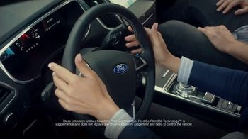 Ford Edge Tv Spot Co Pilot Technology