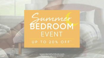 Dania Summer Bedroom Event Tv Commercial Save On Every Bedroom