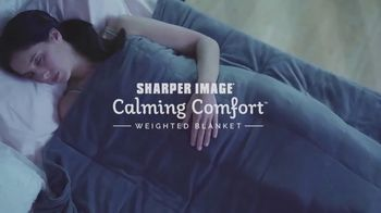 Sharper Image Calming Comfort Tv Commercial Weighted Blanket