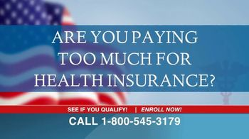 the affordable health insurance hotline tv commercial paying too