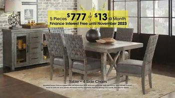 Rooms To Go Holiday Sale Tv Commercial Five Piece Dining Sets 13 Per Month Ispot Tv