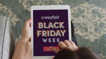 new style 63102 82fe9 Wayfair Black Friday Week TV Commercial, 'Big Savings ...