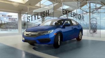 Honda Civic Commercial >> 2018 Honda Civic Tv Commercial Discover All The Reasons T2