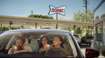 Sonic Drive In Jr Garlic Butter Bacon Burger Tv Commercial Happy Dance Ispot Tv