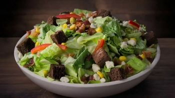 Ruby Tuesday Endless Garden Bar Tv Commercial Up To 50 Toppings Video