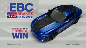 EBC Brakes Sweepstakes TV Commercial, 'Mustang GT' - iSpot tv