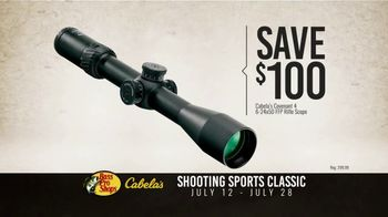 Bass Pro Shops Shooting Sports Classic TV Commercial, 'Rifle Scopes